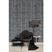 AS Création Mustertapete in Vintage Optik Midlands Tapete grau metallic 10,05 m x 0,53 m