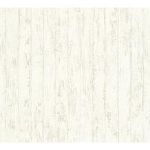 AS Création Mustertapete in Vintage Optik Urban Flowers Tapete creme grau weiß 327241 10,05 m x 0,53 m