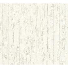 AS Création Mustertapete in Vintage Optik Urban Flowers Tapete grau weiß 327242 10,05 m x 0,53 m