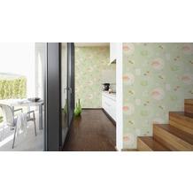 AS Création Mustertapete Kitchen Dreams Tapete grün orange lila 10,05 m x 0,53 m