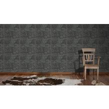 AS Création Mustertapete Kitchen Dreams Tapete metallic schwarz 10,05 m x 0,53 m