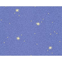 AS Création Mustertapete Leuchtstern Dekora Natur, Strukturprofiltapete, zitronengelb 911711 10,05 m x 0,53 m