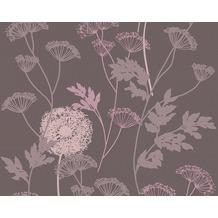 AS Création Mustertapete Life 3, Vliestapete, braun, rosa 302939 10,05 m x 0,53 m