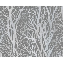 AS Création Mustertapete Life 3, Vliestapete, grau, metallic 300943 10,05 m x 0,53 m