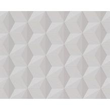 AS Création Mustertapete mit Glitter Life 3, Vliestapete, beige 962551 10,05 m x 0,53 m