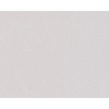 AS Création Mustertapete mit Glitter Life 3, Vliestapete, grau, metallic 301642 10,05 m x 0,53 m