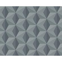 AS Création Mustertapete mit Glitter Life 3, Vliestapete, schwarz 962552 10,05 m x 0,53 m