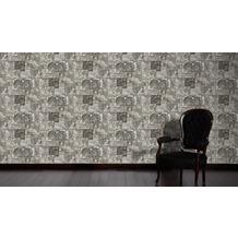 AS Création Mustertapete Simply Decor Tapete grau schwarz weiß 664327 10,05 m x 0,53 m