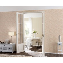 AS Création Mustertapete New Classics, Tapete, creme, metallic, orange 10,05 m x 0,53 m