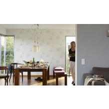 AS Création Mustertapete OK 7, Vliestapete, grau, weiß 10,05 m x 0,53 m