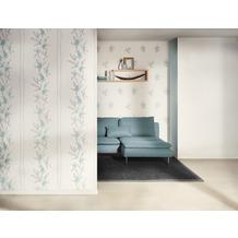 AS Création Mustertapete Paloma, Vliestapete, blau, creme, grau 10,05 m x 0,53 m