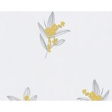 AS Création Mustertapete Paloma, Vliestapete, creme, grau, grün 301383 10,05 m x 0,53 m