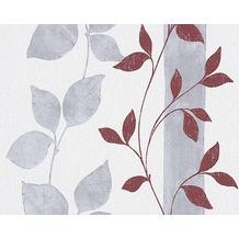 AS Création Mustertapete Paloma, Vliestapete, grau, rot 300925 10,05 m x 0,53 m