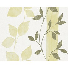 AS Création Mustertapete Paloma, Vliestapete, grün, weiß 300921 10,05 m x 0,53 m