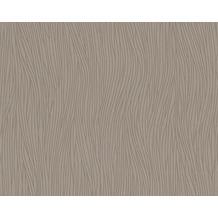 AS Création Mustertapete San Francisco, Strukturprofiltapete, braun, metallic 949554 10,05 m x 0,53 m