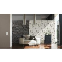 AS Création Mustertapete San Francisco, Strukturprofiltapete, braun, metallic 10,05 m x 0,53 m