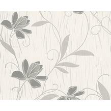 AS Création Mustertapete San Francisco, Strukturprofiltapete, grau 10,05 m x 0,53 m