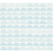 AS Création Mustertapete Scandinavian Style blau metallic 342444 10,05 m x 0,53 m