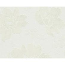 AS Création Mustertapete Smooth, Vliestapete, grau, weiß 302353 10,05 m x 0,53 m