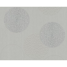 AS Création Mustertapete mit Glitter Spot 3 Vliestapete grau 937921 10,05 m x 0,53 m
