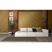 AS Création Mustertapete Spot 3 Vliestapete gold metallic 10,05 m x 0,53 m
