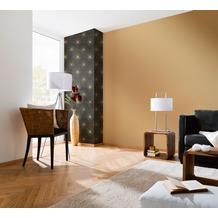AS Création Mustertapete Spot 3 Vliestapete metallic schwarz 10,05 m x 0,53 m