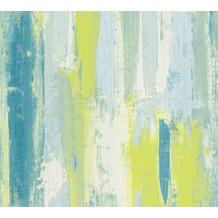 AS Création Mustertapete Vision Vliestapete blau creme grün 319493 10,05 m x 0,53 m