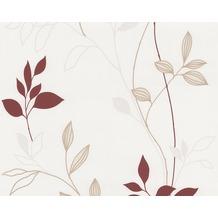AS Création Mustertapete, Vliestapete, creme,rot,beige, 249739 10,05 m x 0,53 m