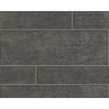 AS Création Mustertapete Wood`n Stone, Tapete, braun, grau, schwarz 10,05 m x 0,53 m