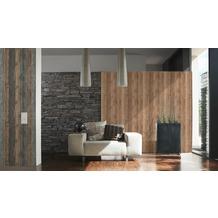 AS Création Mustertapete Wood`n Stone, Tapete, Holzoptik, beige, braun 10,05 m x 0,53 m