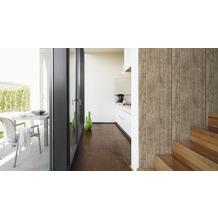 AS Création Mustertapete Wood`n Stone, Tapete, Holzoptik, beige, braun, gelb 10,05 m x 0,53 m
