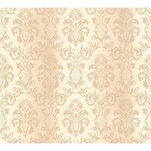 AS Création neobarocke Mustertapete Hermitage 10 beige creme 335455 10,05 m x 0,53 m