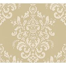 AS Création neobarocke Mustertapete Hermitage 10 beige metallic 341433 10,05 m x 0,53 m