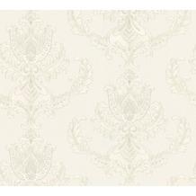 AS Création neobarocke Mustertapete Hermitage 10 creme grau 335461 10,05 m x 0,53 m