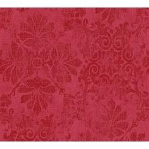 AS Création neobarocke Mustertapete Memory 3 Vliestapete metallic rot 329873 10,05 m x 0,53 m