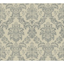 AS Création neobarocke Mustertapete Secret Garden Tapete braun schwarz 336053 10,05 m x 0,53 m