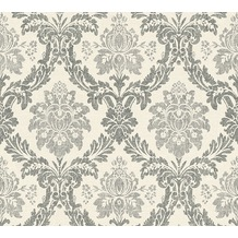 AS Création neobarocke Mustertapete Secret Garden Tapete creme schwarz 336051 10,05 m x 0,53 m