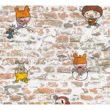 AS Création Papiertapete Boys & Girls 6 Tapete Vintage Backstein Optik beige braun 369871 10,05 m x 0,53 m
