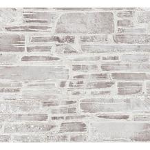 AS Création Papiertapete Il Decoro Tapete in Naturstein Optik beige braun creme 364593 10,05 m x 0,53 m