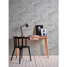 AS Création Papiertapete Il Decoro Tapete in Naturstein Optik beige grau 10,05 m x 0,53 m