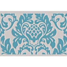 AS Création selbstklebende Bordüre Only Borders 9 beige blau grün 303891 5,00 m x 0,05 m