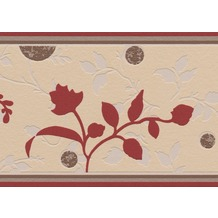 AS Création selbstklebende Bordüre Only Borders 9 beige braun 258823 5,00 m x 0,13 m