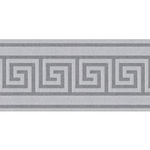 AS Création selbstklebende Bordüre Only Borders 9 grau 5,00 m x 0,04 m