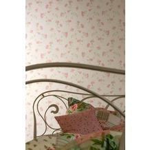 AS Création Shabby Chic Mustertapete Liberté, Tapete, grau, rosa, weiß 10,05 m x 0,53 m