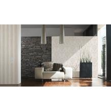 AS Création Shabby Chic Mustertapete Shabby Style, Vliestapete, beige, creme, metallic 10,05 m x 0,53 m
