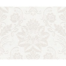 AS Création Shabby Chic Mustertapete Shabby Style, Vliestapete, beige, creme, weiß 293428 10,05 m x 0,53 m