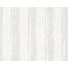 AS Création Shabby Chic Streifentapete Shabby Style, Vliestapete, beige, creme, weiß 941563 10,05 m x 0,53 m