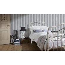 AS Création Shabby Chic Streifentapete Shabby Style, Vliestapete, beige, grau, metallic 10,05 m x 0,53 m