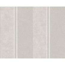 AS Création Streifentapete Elegance 3, Vliestapete, grau 305202 10,05 m x 0,53 m