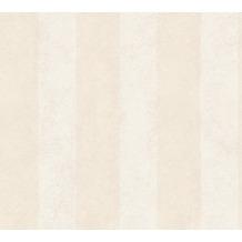 AS Création Streifentapete Essentials Vliestapete Tapete beige 10,05 m x 0,53 m